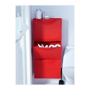 Rangement Trones d'Ikea dans les toilettes. Photo ikea.com
