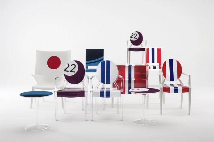 La collection Kartell + Lapo par Kartell et Lapo Elkann