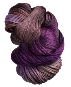 Echeveau de laine teintée à la main