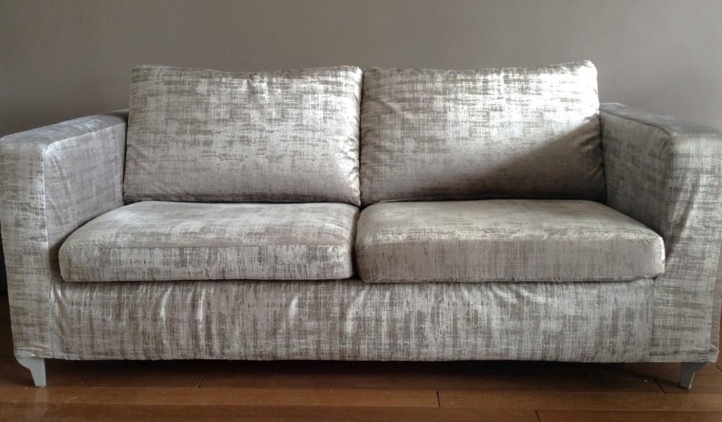 Coussin pour canapé gris neuf