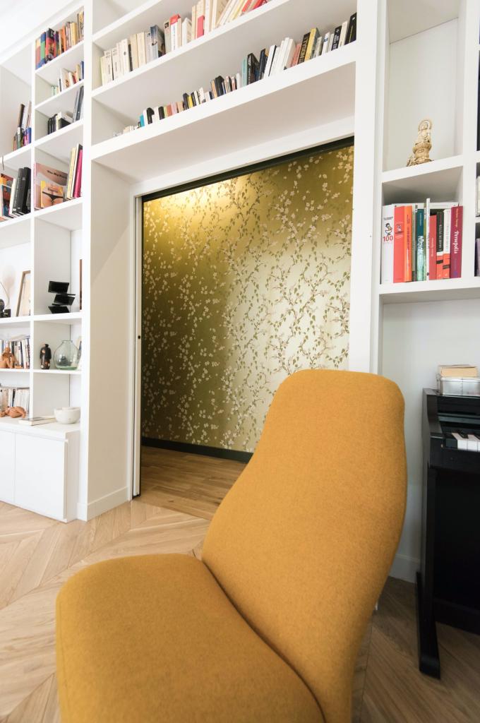 Projet appartement architecte Paris
