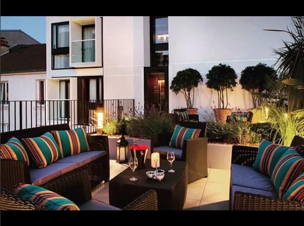 Coussins extérieurs pour terrasse