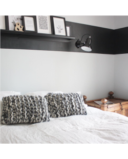 Idee deco chambre coussins tricot grosse laine