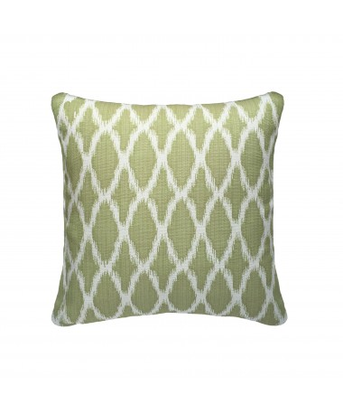 Coussin vert luxe campagne