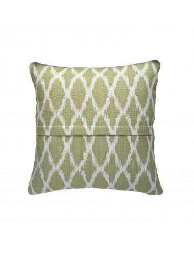 Coussin vert de luxe campagne