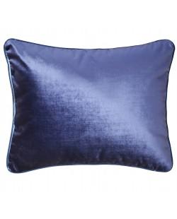 Coussin Velours bleu marine