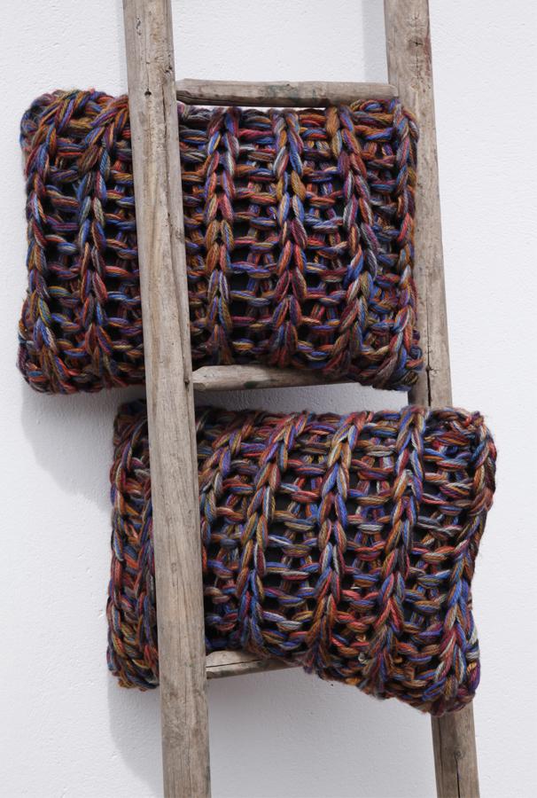 Coussins en laine tendance